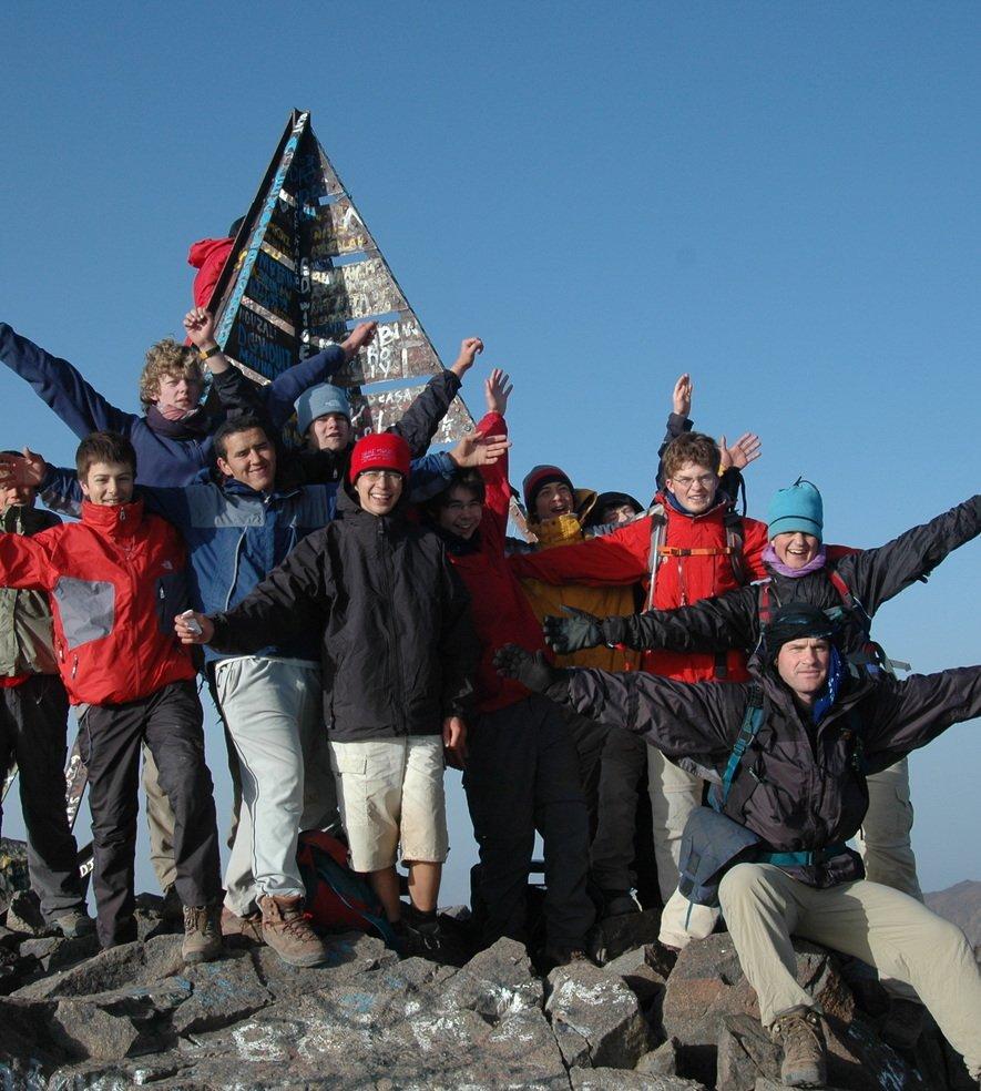 DSC 0190   summit of Mt Toubkhal
